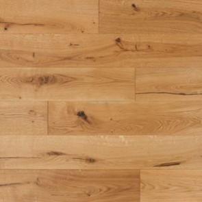 TrendLine Massivholzdiele Eiche Rustikal - Verlegebild