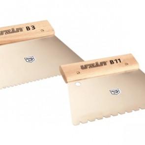 UZIN Zahnspachtel für Klebstoffauftrag - Zahnung B 11