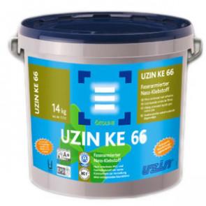 Vinylklebstoff faserarmiert UZIN KE 66 Nassbettklebstoff (Blauer Engel) - 14 kg