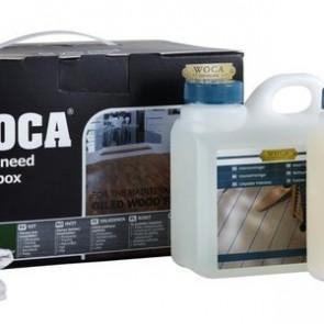 WOCA Pflegebox für natur geölte Oakland-Böden mit Pflegeöl