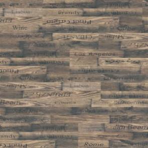 Classic Line Printkork Vino Kork-Klebefliese vorbehandelt und vorgeleimt Thermocor versiegelt - 1235x205x6 mm