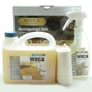 WOCA Reinigungs-Set für geölte Parkette