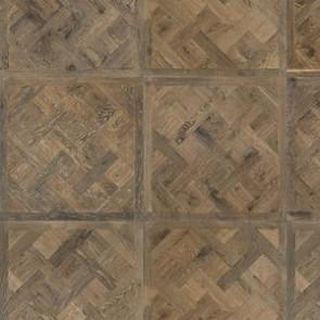 Luxery-Design 3-Schicht-Tafelboden Eiche BOURGOGNE roh - Detailbild