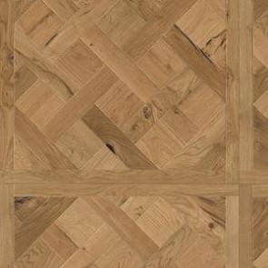 Luxery-Design 3-Schicht-Tafelboden Eiche WYOMING gebürstet roh - Detailbild