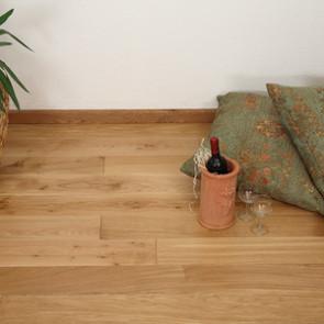 TwinWood Technische Massivholzdiele Eiche Pure markant roh Ambientebild