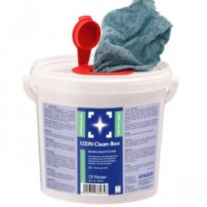 UZIN Clean-Box - Reinigungstücher für Klebstoffrückstände