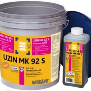 Parkettklebstoff UZIN MK 92 S 2-K PUR (helle Holzarten) - 10 kg