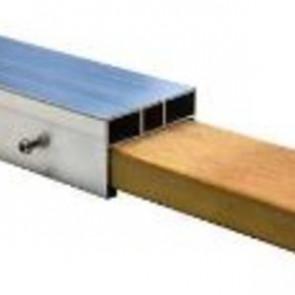 Alu-Unterkosntruktion 26x60 mm und 40x60 mm