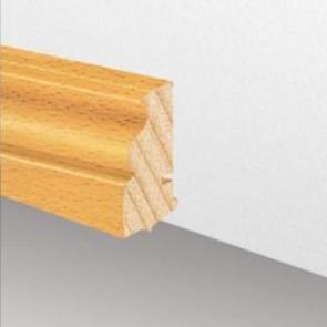 Massivholzleiste SL 620 - Eiche roh (Altberliner Profil)