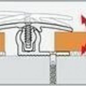 Übergangsprofil Bodenbeläge 7-18mm