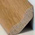 Basic Massivholz-Sockelleiste Buche 30/30 (geschwungen) gedämpft farblos ...
