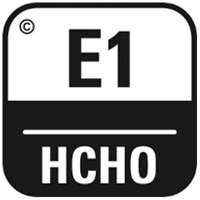 Emission von Formaldehyd gemäß EN717-1:E1