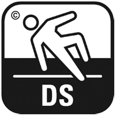 Rutschfestigkeit nach EN13845:DS